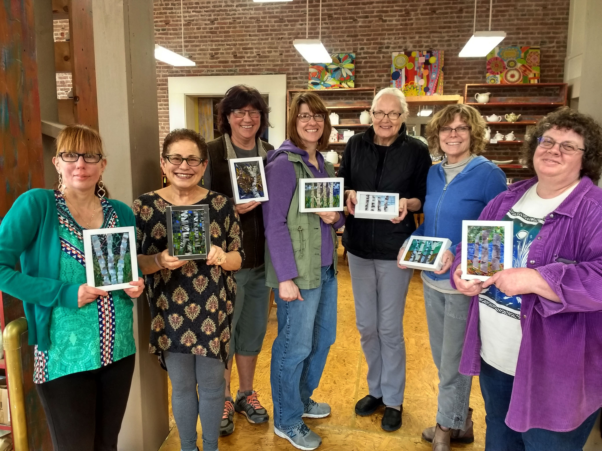 Mosaic Classes - Glass on Glass