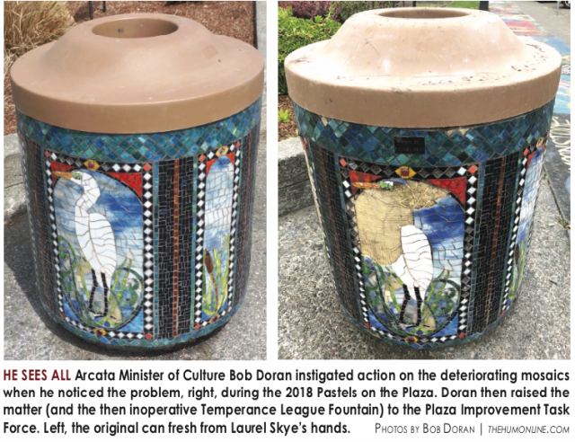 Plaza Mosaic Restoration Project